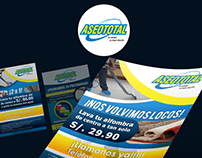 AseoTotal | Presentation and flyers design
