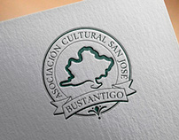 Logo design for cultural asociation.