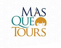Diseño de Logotipoi para Más Que Tours