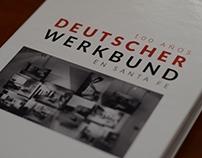 Diseño editorial: libro sobre Werkbund, diseño Alemán.