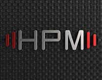 Logotipo 3D - HPM