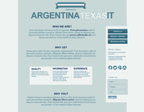 Microsite - Argentina Texas IT