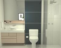 Interiores | Projeto Banheiro Heloisa Fronza