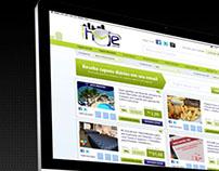Web Design - Site de Compras Coletivas Vale pra Hoje