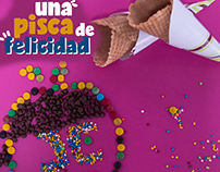 """Piezas para redes sociales """"Heladería Juan Cremoso"""""""