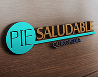 Logo & Branding: Pie Saludable Quiropedia