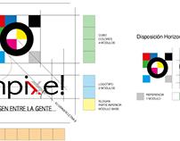 Imagen Corporativa / Caso: Ohpixe!.