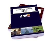 Diseño y diagramación Informe de gestión ANH