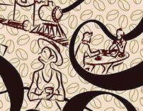 Grid - Ilustration Design Maquina de Café Expresso