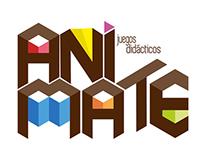 ANIMATE - Logo and identity.