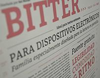 Espécimen tipográfico | Bitter