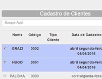 Cadastro de Clientes - Angularjs