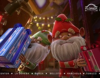 Navidad Gnomos Portal / Mamuth