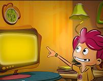 """Comercial animado """"Desconectate"""""""