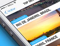 Travel app proposal