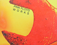 "LP Cover art: Pink Floyd ""Works"""