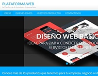 Sitio Web Plataforma WEB