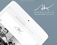 Andreia Koerich Website
