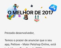 Premiação de app