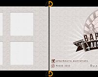 Cartão de Visita: Barbearia Australians