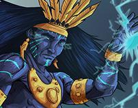 Tkherma, god of storms