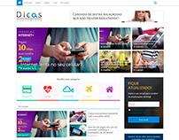 Desenvolvimento do portal de notícias Dicas Consumidor