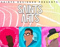 Ilustração I Saints Arts