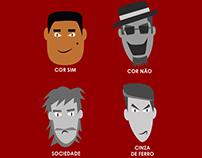 2016 - Personagens Grayland, a Cidade Cinza