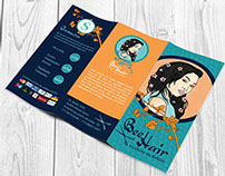 Hair Salon brochure, poster and magnets