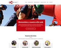 Página Web de Empresa de Construcción - Venezuela