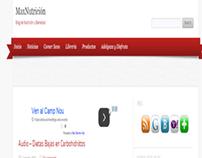 MaxNutrición - Web de Nutrición y Bienestar