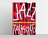 Jazz Talking Diseño de cartel