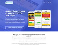 Delivoro Landing Page - Vendas Aplicativo