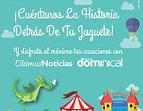 Promoción Día del Niño para el diario Últimas Noticias