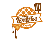 LOGO - Waffles Express