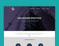 AP Construcciones - Home page proposal