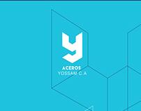 Corporate identity - Aceros Yossam c.a