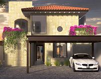 Visualización casa Corona