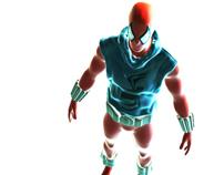 Scarlet Spider / Modelo 3-D