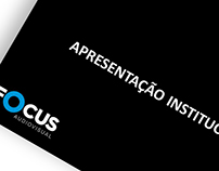 Apresentação Focus Áudiovisual