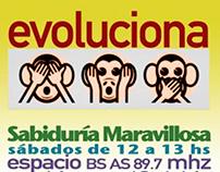 Flyer Radio Cl: Sabiduría Maravillosa