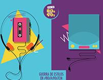 TCM Latinoamerica. Battle of the decades.