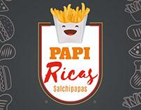 "Proyecto Logo ""Papiricas"""
