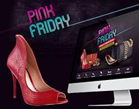 Hotsite Pink Friday - My Shoes E-commerce