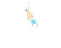 Gabriel Medina Backflip animation