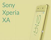 Ad idea - Sony Xperia XA