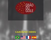 Menu - Grão do Gole