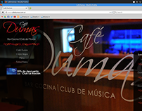 Café Dumas - Diseño Web