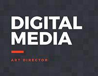 Mídias digitais para redes sociais.