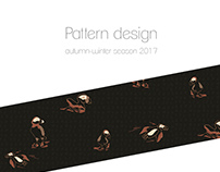 Autumn-winter season 2017 pattern design
